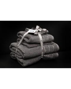 Alkaram Towel 6 - Piece Towel Set - Grey