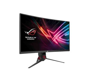 Asus ROG Strix XG32VQ Curved Gaming Monitor  32 inch WQHD, 144Hz, Aura Sync, Adaptive-Sync(FreeSync) & 125% sRGB Color Space