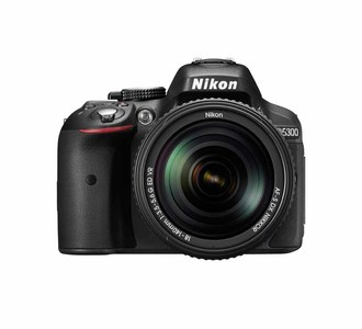 Nikon D5300 Kit With AF-S DX NIKKOR 18-55MM F/3.5-5.6G VR Lens  Built-in Wi-Fi Connectivity