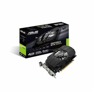 Asus PH-GTX1050TI-4G Phoenix GeForce GTX 1050 Ti 4GB GDDR5 Best for Compact Gaming PC Build