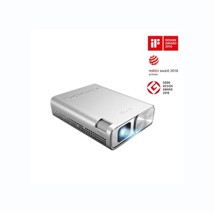 ASUS ZenBeam E1 Pocket LED Projector With Built-in 6000mAh Battery, Up to 5 hour Projection, Power Bank, Auto Keystone Correction & HDMI/MHL