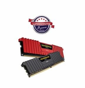 Corsair Vengeance LPX 8GB DDR4 DRAM C14 Memory Kit (RAM) for Gaming Desktop  Product No. CMK8GX4M1A2400C16 & CMK8GX4M1A2400C16R