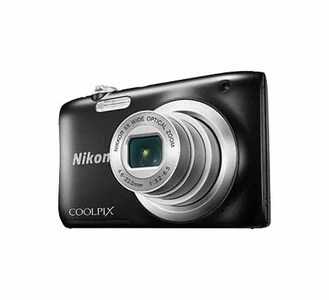 Nikon COOLPIX A100 Compact Digital Camera  With NIKKOR Lens With 5x Optical Zoom