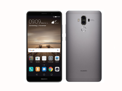 Huawei Mate 9 With Android 7.0, ROM 64 GB & RAM 4 GB  Revolutionary Speed