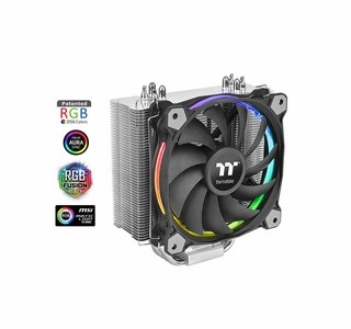 Thermaltake Riing Silent 12 RGB Sync Edition CPU Cooler  Product No: CL-P052-AL12SW-A