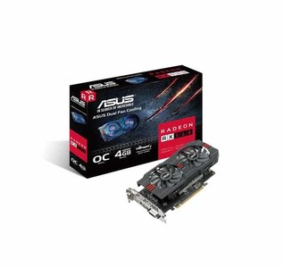 Asus RX560-O4G Radeon RX 560 Graphics Card For Cool & Efficient eSports Gaming