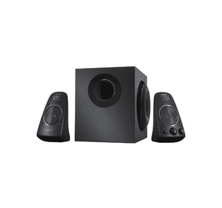 Logitech Z623 2.1 Home Stereo System with Subwoofer & Captivating THX Sound  With 1 Year Replacement Warranty