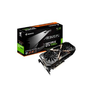 GIGABYTE AORUS GeForce GTX 1080 Ti Xtreme Edition 11G  Product No. GV-N108TAORUS X-11GD