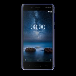 Nokia 8 Android Oreo 8.0.0, RAM 4 GB LPPDDR4X & CPU Qualcomm® Snapdragon 835  Super Slim and Brilliant Cameras