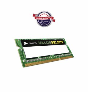 Corsair Value Select 4GB DDR3L 1600MHz SODIMM RAM for Notebook  Product No. CMSO4GX3M1C1600C11