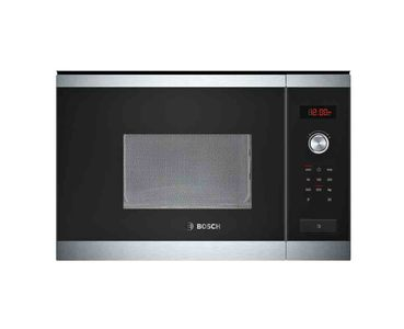Bosch Series 6 Built-in Microwave Oven For The 38 cm Niche  Product No. HMT75M654M