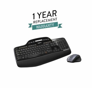 Logitech MK710 Wireless Desktop Keyboard and Mouse Combo With 1 Year Replacement Warranty