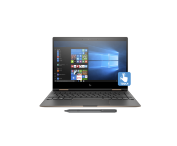 HP Spectre x360 13 ae087TU Ci7 8250U 8th Gen. RAM 08 GB, SSD 256 GB & Touch Screen  Product No. 3CP78PA