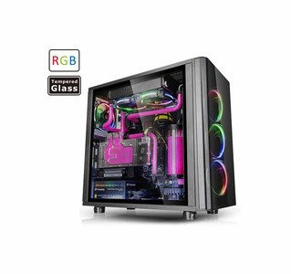 Thermaltake View 31 Tempered Glass RGB Edition Mid Tower Chassis  Product No. CA-1H8-00M1WN-01