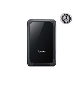 Apacer AC532 Shockproof 1TB Portable Hard Drive, Color  Black