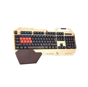 A4Tech Bloody B418 Light Strike Semi Optical Gaming Golden Color Mechanical Keyboard