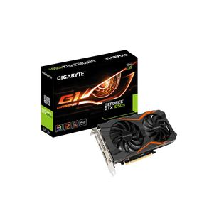 GIGABYTE GeForce GTX 1050 Ti G1 Gaming 4G  Product No. GV-N105TG1 GAMING-4GD