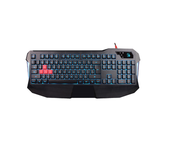 A4Tech Bloody B130 Blazing Gaming Keyboard With Built in Memory & Extended Palm Rest