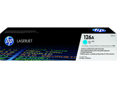CE311A  Cyan Toner Cartridge CP 1025
