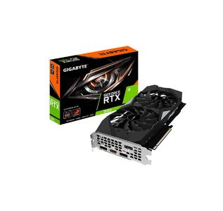GIGABYTE GeForce RTX 2060 WINDFORCE OC 6G Graphics Card  Product No: GV-N2060WF2OC-6GD