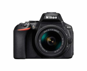 Nikon D5600 Kit With AF-S DX VR-II 18-55/ 3.5-5.6G Lens  Built-in Wi-Fi, Bluetooth & NFC