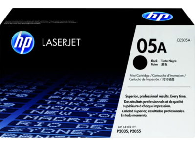 CE505A HP 05A Black LaserJet Toner Cartridge