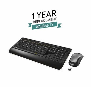Logitech MK520r Wireless Keyboard and Mouse Combo With 1 Year Replacement Warranty
