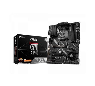 MSI X570-A PRO Gaming Motherboard With Frozr Heasink & Core Boost