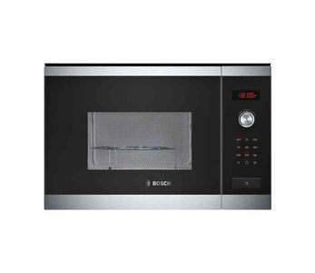 Bosch Series 6 Microwave Oven With Grill Brushed Steel  Product No. HMT84G654M