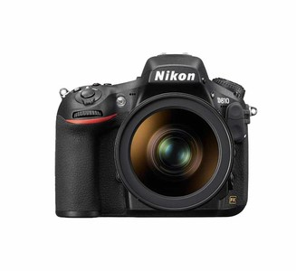 Nikon D810 (Body) With FX Format CMOS Image Sensor  One Look Changes Everything