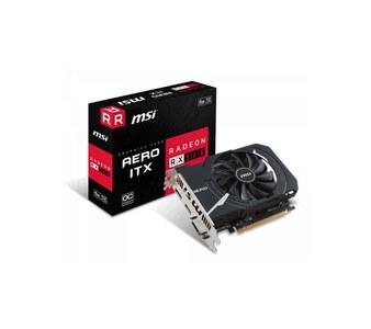 MSI Radeon Radeon RX 560 AERO ITX 4G OC 4GB DDR5 Graphics Card