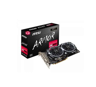 MSI Radeon RX 580 ARMOR 8G OC 8GB DDR5 Graphics Card