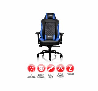 Thermaltake Tt eSports GT Comfort Series GTC 500 Gaming Chair (Blue)  Product No: GC-GTC-BLLFDL-01