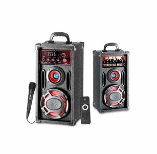 Audionic CLASSIC BT 150 2.0 Wireless Bluetooth Tower Speakers With MIC & Remote