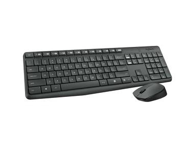 Logitech MK235 Wireless Keyboard & Mouse Combo  Full-size. Durable. Simple.