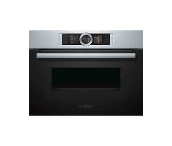 Bosch Series 8 Stainless Steel Compact Oven With Microwave Function  Product No. CMG656BS1M