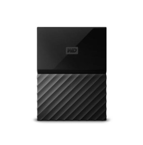 WD My Passport Portable External Hard Drive 4TB Color  Black