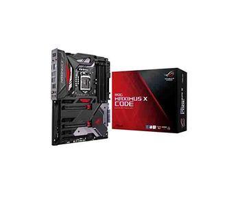 Asus ROG MAXIMUS X CODE Intel Z370 ATX Gaming Motherboard With Aura Sync RGB LEDs, 802.11ac, DDR4 4133MHz, Dual M.2 & USB 3.1 Gen 2