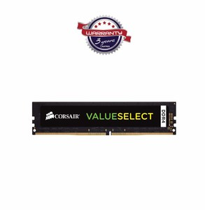 Corsair Value Select 4GB DDR4 2133MHz CL15 DIMM For Desktop- Product No. CMV4GX4M1A2133C15