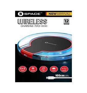 Space Wireless Charging Pad With 1 Year Warranty  Product No. WC-140