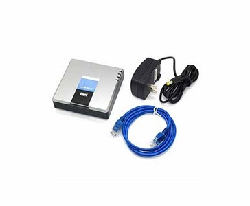 Linksys Phone Adapter With 2 Ports For Voice Over IP  Product No: PAP2TG-EU