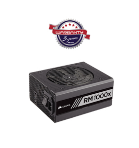 Corsair RMx Series RM1000x 1000 Watt 80 PLUS® Gold Certified Fully Modular PSU (UK)  Product No. CP-9020094-UK