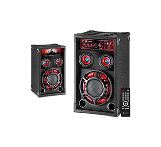 Audionic CLASSIC BT 185 2.0 Wireless Bluetooth Tower Speakers With MIC & Remote