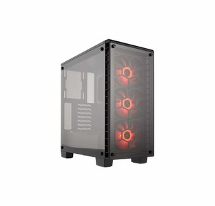 Corsair Crystal Series 460X RGB Compact ATX Mid-Tower CPU Case  Product No. CC-9011101-WW