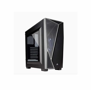 Corsair Carbide Series SPEC-04 Tempered Glass Mid-Tower Gaming CPU Case Color: Black & Gray  Product No. CC-9011109-WW