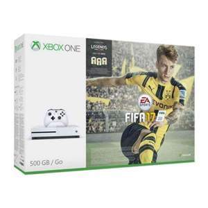 Microsoft Xbox One S FIFA 17 Bundle 500 GB White