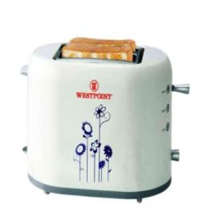 Westpoint  Deluxe 2 Slice Pop Up Toaster White