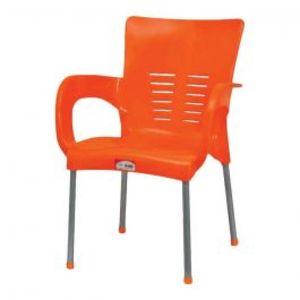 Super Steel Plastic Chair Orange