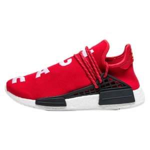 Mens Pharrell x Adidas Red Nmd Human Race
