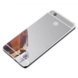 Xiaomi Redmi 4X Mirror Bumper Case Silver